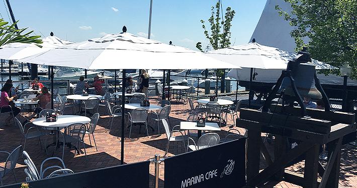 Marina Cafe Tiki Bar Staten Island