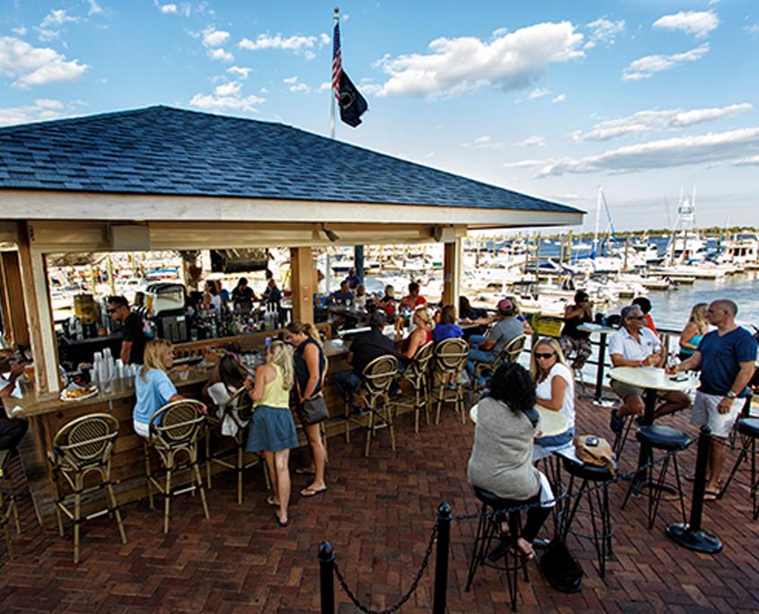 Marina Cafe's Staten Island TIki Bar