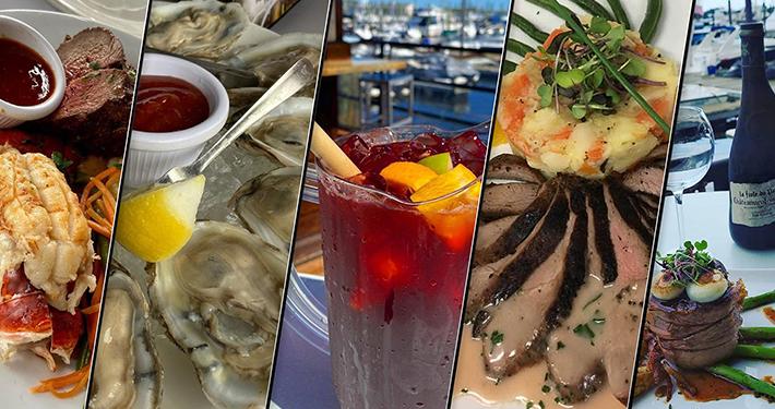 Marina Cafe Outdoor Dining on Staten Island and Indoor Dining on Staten Island