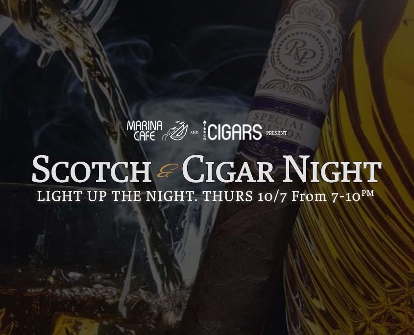 Scotch and Cigar Night